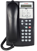 Avaya Partner Euro II 6-Button Display Phone Black
