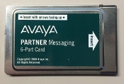 Avaya Partner Messaging 6-Port Card 700015076